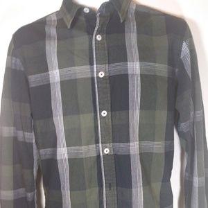 American Rag Button Down Mens Size Small Green